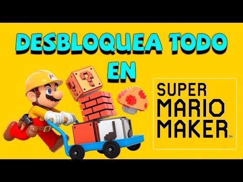 Desbloquea Todos los objetos en Super Mario Maker