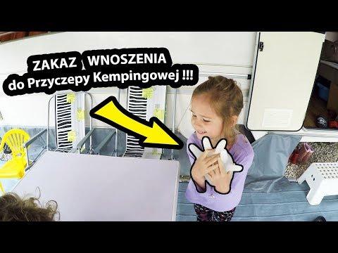 Nie Wnoście Tego do Przyczepy Kempingowej - Grozi Zalaniem !!! (Vlog #220)