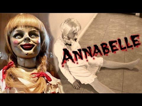 annabelle diy costume