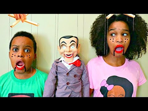 Thumbnail: TOY PUPPET vs Shiloh And Shasha - Onyx Kids