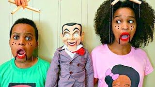 TOY PUPPET vs Shiloh And Shasha - Onyx Kids