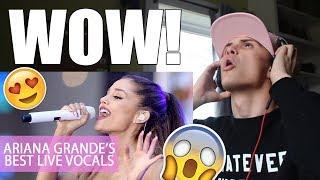 Ariana Grande Best Live Vocals