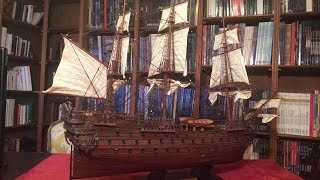 Relaxation/ASMR - Model Ship Of The Line Show and Tell