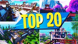TOP 20 MUST PLAY Creative Maps In Fortnite | Fortnite Creative Map CODES