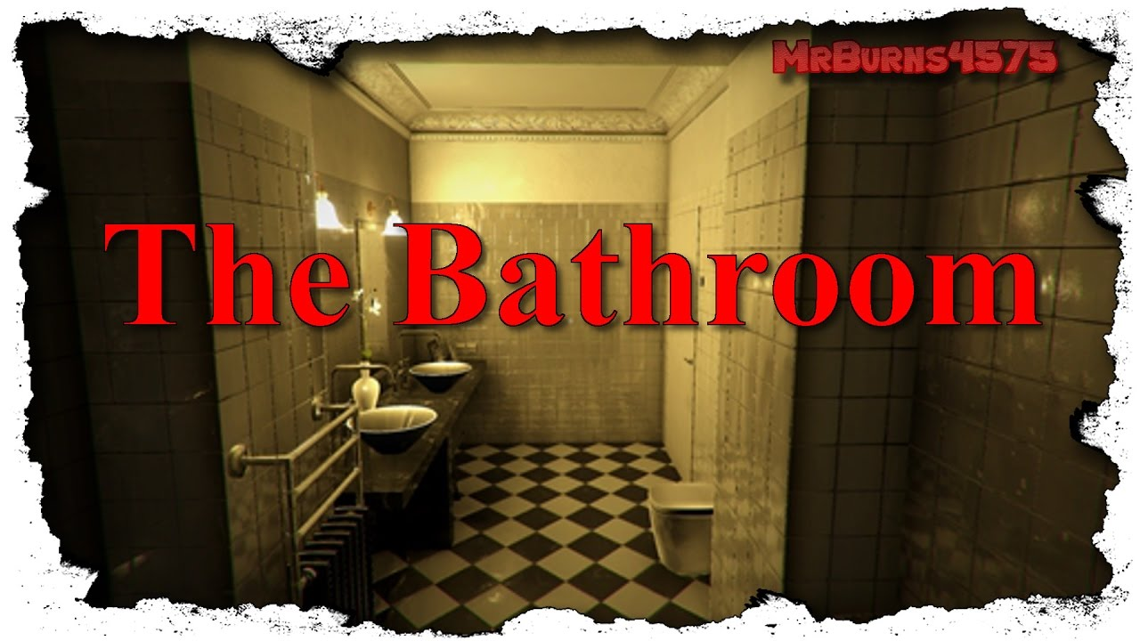 Bathroom Japanese Horror Game let's play the bathroom 🛀 a japanese horror - [indie horror game