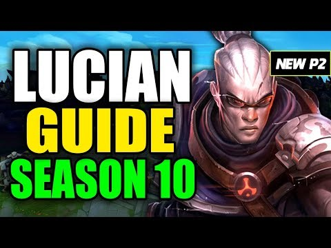 HOW TO PLAY LUCIAN SEASON 10 - (Best Build, Runes, Playstyle) - S10 Lucian Gameplay Guide