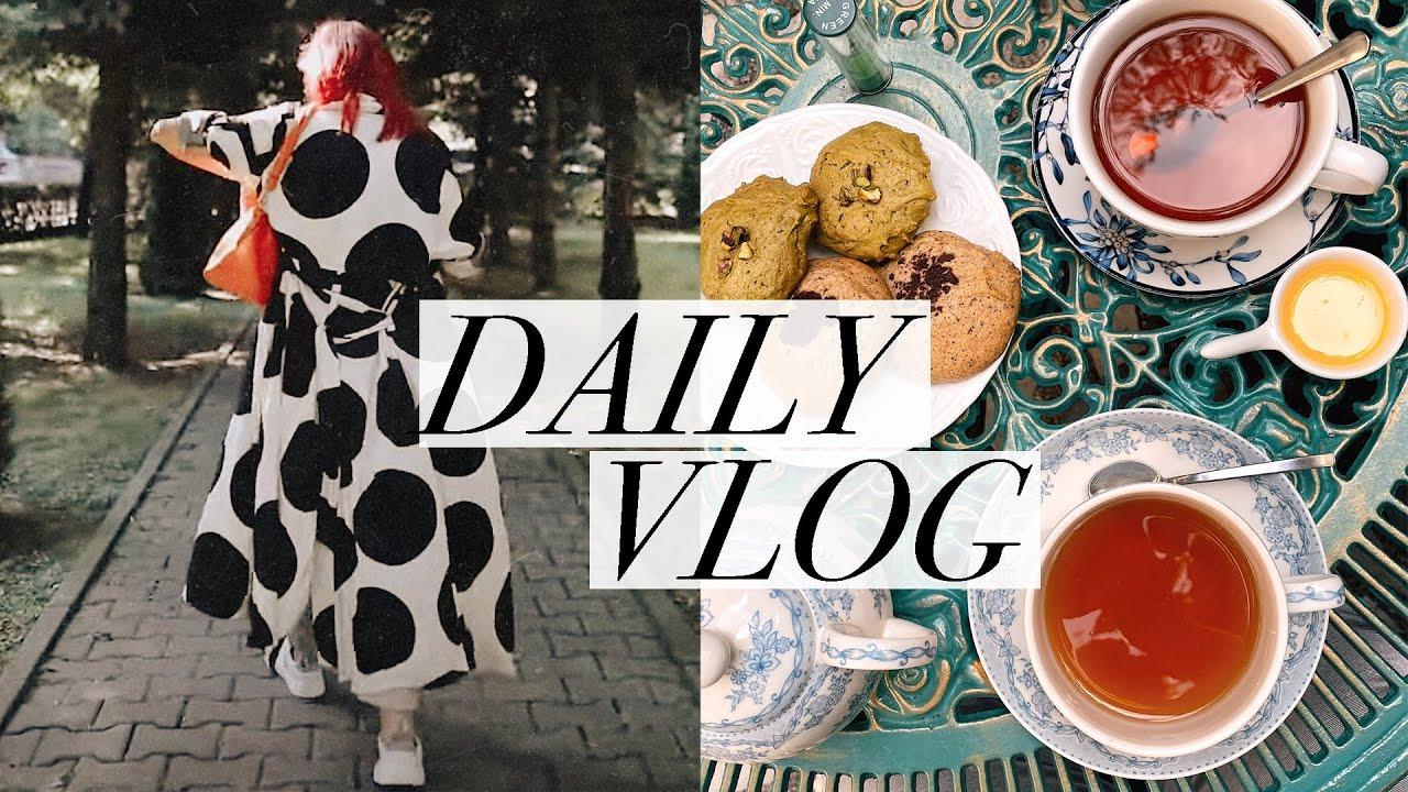 Daily vlog | Trecem usor la toamna cu ceaiuri parfumate, tinute de tranzitie, hygge si pufosenii 🍂
