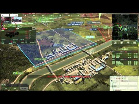 Wargame: Red Dragon - 4v4 - All In - w/ Eye Tracking
