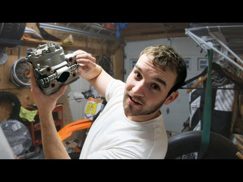 Powervalve Cleaning on the KTM & My First Trials Event - VLOG #2