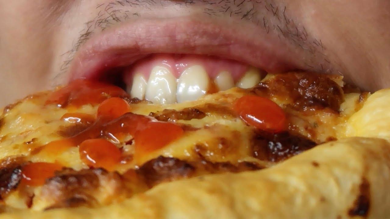 REAL MUKBANG ASMR PIZZA CHEESE