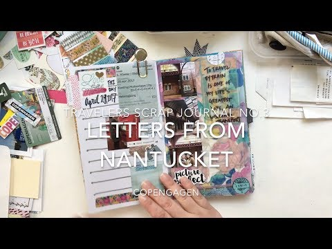 Journaling No. 6 - Travelers Scrap Journal, Copenhagen