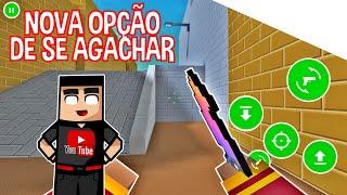 NOVA OPÇÃO DE SE AGACHAR NO BLOCK STRIKE !! (Secreto?)