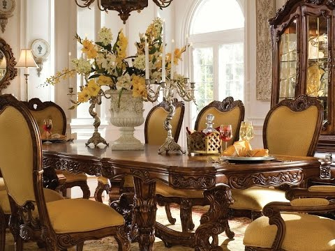 Formal Dining Table Centerpiece