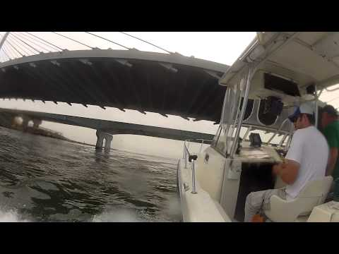Fishing offshore Delaware Indian River Bay Labor Day 2012