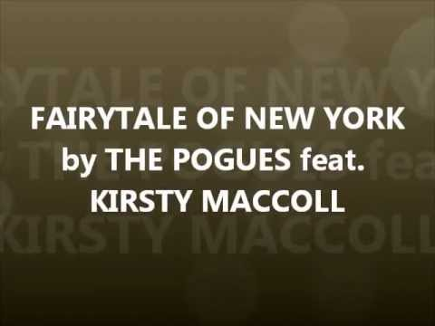 FAIRYTALE OF NEW YORK by THE POGUES feat. KIRSTY MACCOLL-with lyrics
