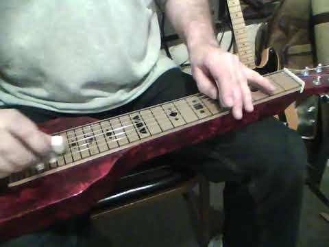 Send Me The Pillow - lap steel guitar
