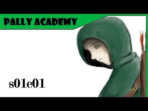 Tibia - Paladin Academy - s01e01 (Os quatro pilares do Paladino)