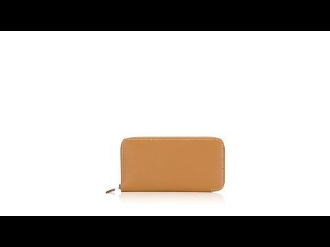 Hermes Epsom Azap Long Wallet Gold