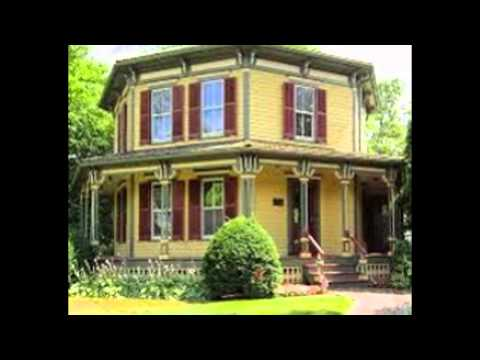Octagon House Plans Vintage custom Octagonal Home design and
