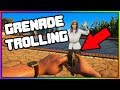 GTA 5 Roleplay - Grenade Trolling (Funny Moments)
