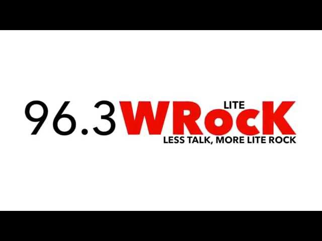 96.3 WRocK Jingle - Each time I feel down and lost