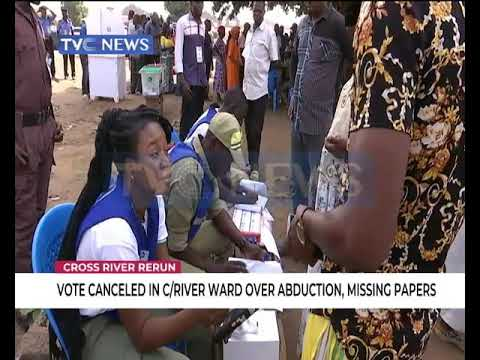 INEC cancels vote in Cross River over abduction, missing papers