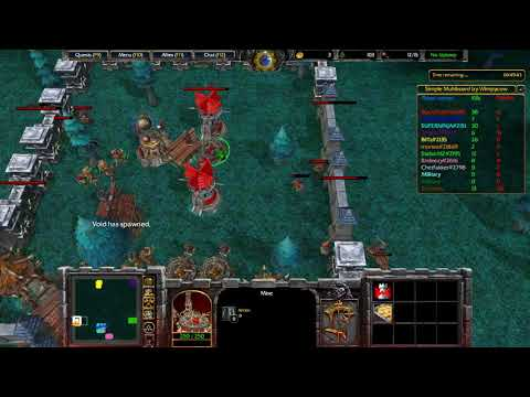 Warcraft 3 Reforged - Infection Attack 1.8D Normal Mode (pve)
