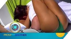 JESSICA Paszka und FLIRTPROFI Prinz MARKUS: HEISSE Küsse am Pool | Promi Big Brother | SAT.1