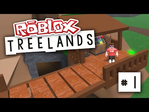 Treelands 1 New Tree House Roblox Treelands Youtube