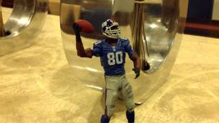Victor Cruz dances to Shooby Taylor - Stout Hearted Man