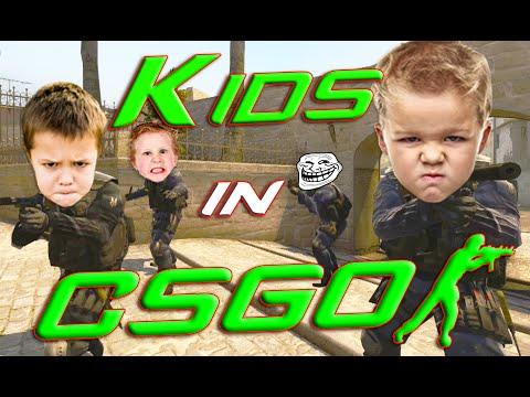 CS:GO - Trolling Silvers #11 - KIDS IN CSGO