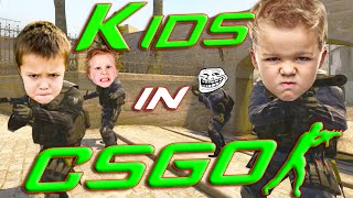 CS:GO - Trolling Silvers #11 - KIDS IN CSGO