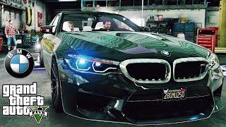 BMW M5 F90 2018 tuning - GTA V MSI GeForce GTX 1080 Ti GAMING X !!!