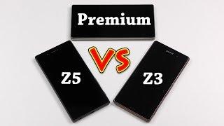 Sony Xperia Z5 vs. Z3 (vs. Z5 Premium) Comparison