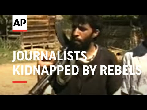 KASHMIR: JOURNALISTS KIDNAPPED BY REBELS