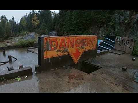 Quick Drive By Exploration Of An Abandoned Gold Mine In British Columbia