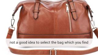 Ladies Leather italian handbags