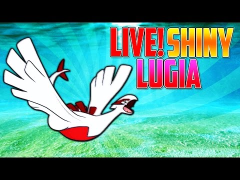 Live Shiny Lugia after only 160 SR's Fire Red
