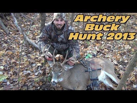 Bow Hunting Buck Hunt 2013 - Hunter