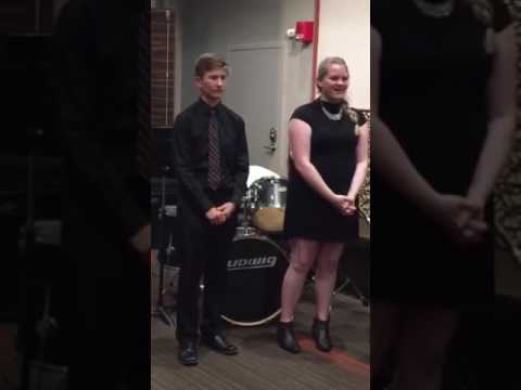 Christmas Time is Here - Duet Performed by Ryan Barrett and Anna Oakley