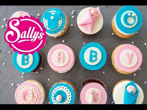 Baby Cupcakes Madchen Und Junge Boy Girl Baby Party Cupcakes