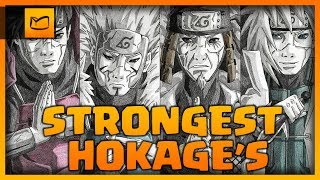 Top 7 strongest Hokage's (Weakest to Strongest)