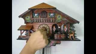 Waterwheel And Dancers Music Cuckoo Clock (#60807)