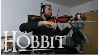 The Hobbit - Misty Mountains Cold Violin Cover