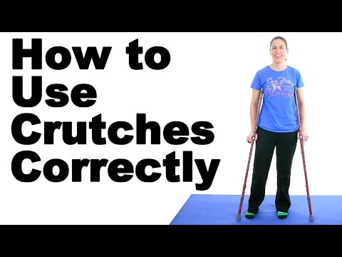How to Use Crutches Correctly