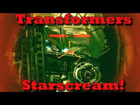 Transformers -  Starscream!