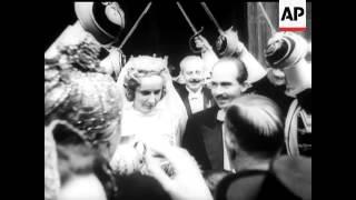 BRIDE FOR OTTO  - WEDDING OF ARCHDUKE OTTO OF HAPSBURG