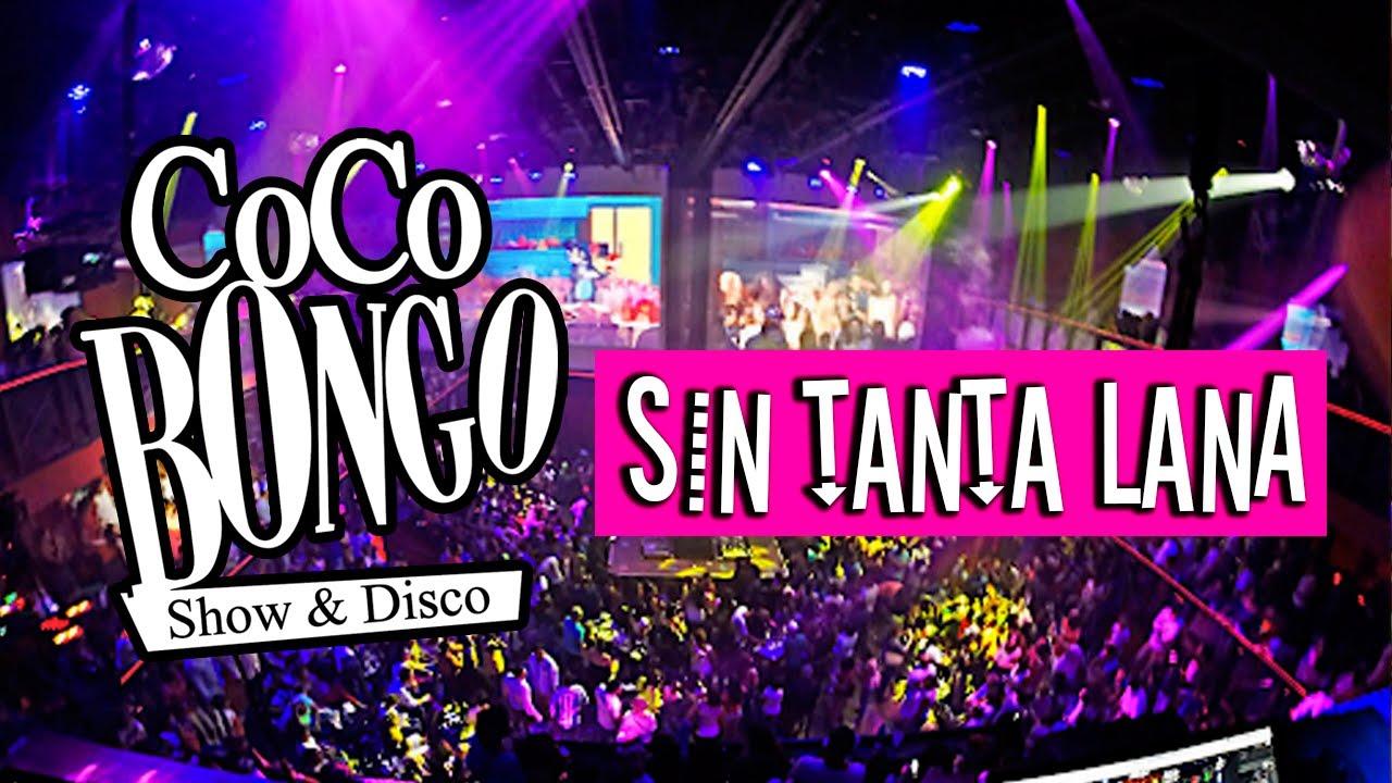 Fiesta en Coco Bongo Cancún con poco dinero, Show & Disco 2019