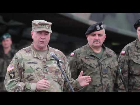 Enhanced Forward Presence Battle Group Poland Demonstrate Capabilities for DV Day