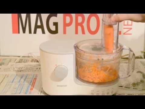 Как да пуснем кухненски робот (Kenwood fp120)